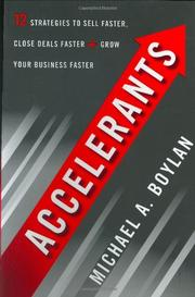 ACCELERANTS by Michael A. Boylan