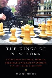 THE KINGS OF NEW YORK by Michael Weinreb