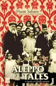 ALEPPO TALES by Haim Sabato