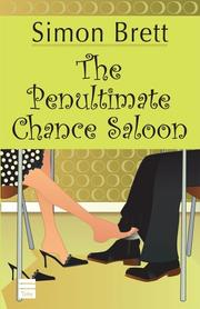 THE PENULTIMATE CHANCE SALOON by Simon Brett