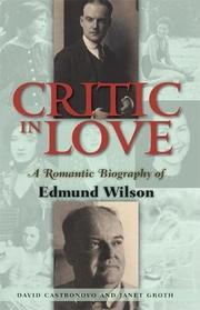 CRITIC IN LOVE by David Castronovo