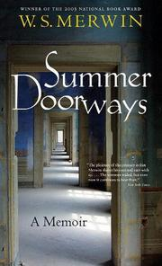 SUMMER DOORWAYS by W.S. Merwin