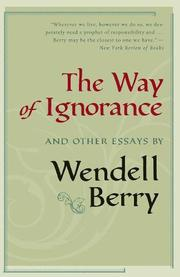 Cover art for THE WAY OF IGNORANCE