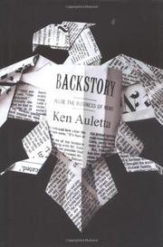 Book Cover for BACKSTORY