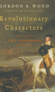 Cover art for REVOLUTIONARY CHARACTERS