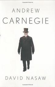 Book Cover for ANDREW CARNEGIE