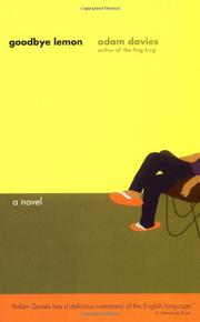 GOODBYE LEMON by Adam Davies