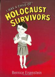 Book Cover for I WAS A CHILD OF HOLOCAUST SURVIVORS