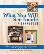 WHAT YOU WILL SEE INSIDE A SYNAGOGUE by Rabbi Lawrence A. Hoffman