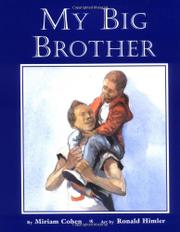 MY BIG BROTHER by Miriam Cohen
