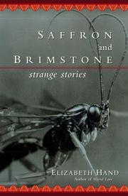 SAFFRON AND BRIMSTONE by Elizabeth Hand