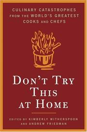 Book Cover for DON'T TRY THIS AT HOME