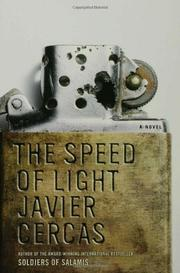 Book Cover for THE SPEED OF LIGHT