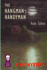 THE HANGMAN'S HANDYMAN by Hake Talbot