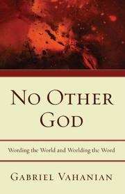 NO OTHER GOD by Gabriel Vahanian
