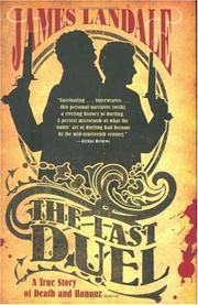THE LAST DUEL by James Landale