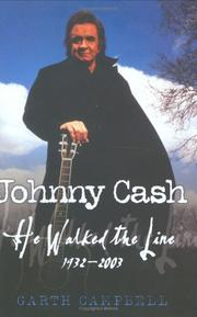 JOHNNY CASH by Garth Campbell