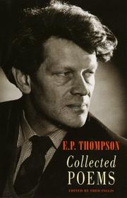 COLLECTED POEMS by E.P. Thompson