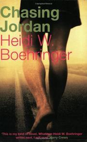 CHASING JORDAN by Heidi W. Boehringer