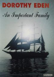 AN IMPORTANT FAMILY by Dorothy Eden