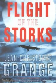 FLIGHT OF THE STORKS by Jean-Christopher Grange