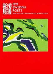 FIVE SWEDISH POETS by Robin--Trans. & Ed. Fulton