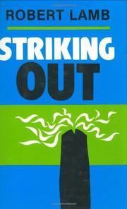 STRIKING OUT by Robert Lamb
