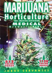 Book Cover for MARIJUANA HORTICULTURE