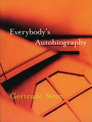 EVERYBODY'S AUTOBIOGRAPHY by Gertrude Stein