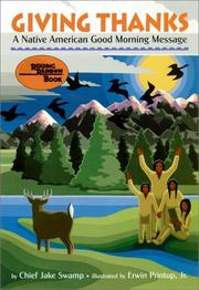 GIVING THANKS: A Native American Good Morning Message by Jake Swamp