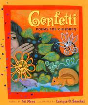 CONFETTI by Pat Mora