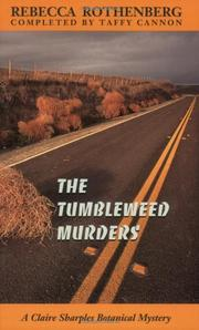 THE TUMBLEWEED MURDERS by Rebecca Rothenberg