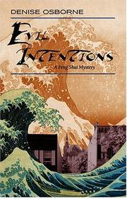 EVIL INTENTIONS by Denise Osborne