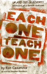 EACH ONE TEACH ONE by Ron Casanova