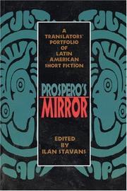 PROSPERO'S MIRROR by Ilan Stavans