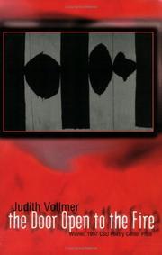THE DOOR OPEN TO THE FIRE by Judith Vollmer