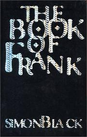 THE BOOK OF FRANK by Simon Black
