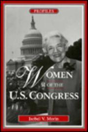 WOMEN OF THE U.S. CONGRESS by Isobel V. Morin