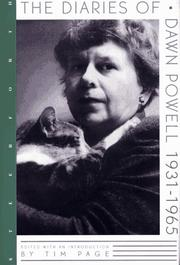 THE DIARIES OF DAWN POWELL: 1931-1965 by Dawn Powell