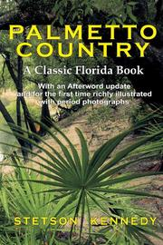 PALMETTO COUNTRY by Stetson Kennedy