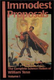 IMMODEST PROPOSALS by William Tenn