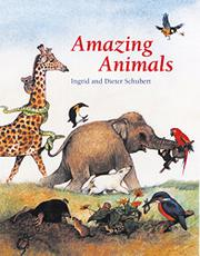 Cover art for AMAZING ANIMALS