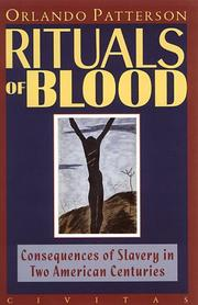 RITUALS OF BLOOD by Orlando Patterson