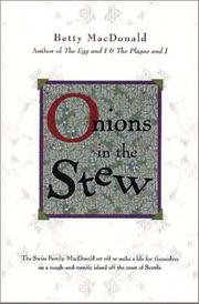 ONIONS IN THE STEW by Betty MacDonald