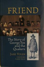 FRIEND by Jane Yolen