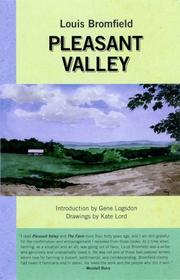 PLEASANT VALLEY by Louis Bromfield