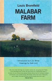 MALABAR FARM by Louis Bromfield