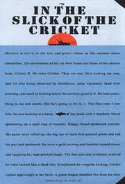 IN THE SLICK OF THE CRICKET by Russell Drumm