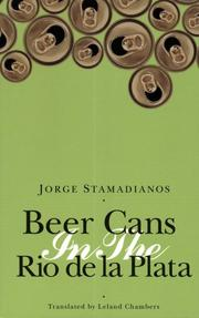 BEER CANS IN THE RIO DE LA PLATA by Jorge Stamadianos