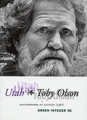 UTAH by Toby Olson